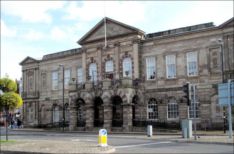 Longton Town Hall Stoke on Trent telling finishings