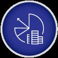 Icon on budget telling finishings
